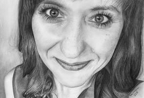 Ania K. - portrait by redzg