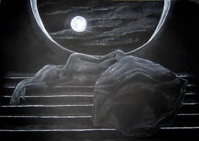 Beyond The Moonlit Waves by NightfallSiren