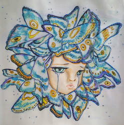 Butterfly Princess by NightfallSiren