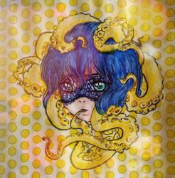 Octopusgirl by NightfallSiren