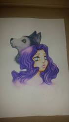 Updated Wolf Girl by NightfallSiren