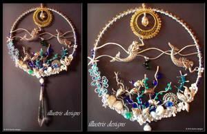Mermaid suncatcher by illustrisdesigns