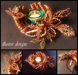 Carpe Diem candle holder by illustrisdesigns
