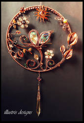 Butterfly suncatcher by illustrisdesigns