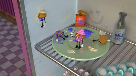 The Last Cupcake by SplatterDoll