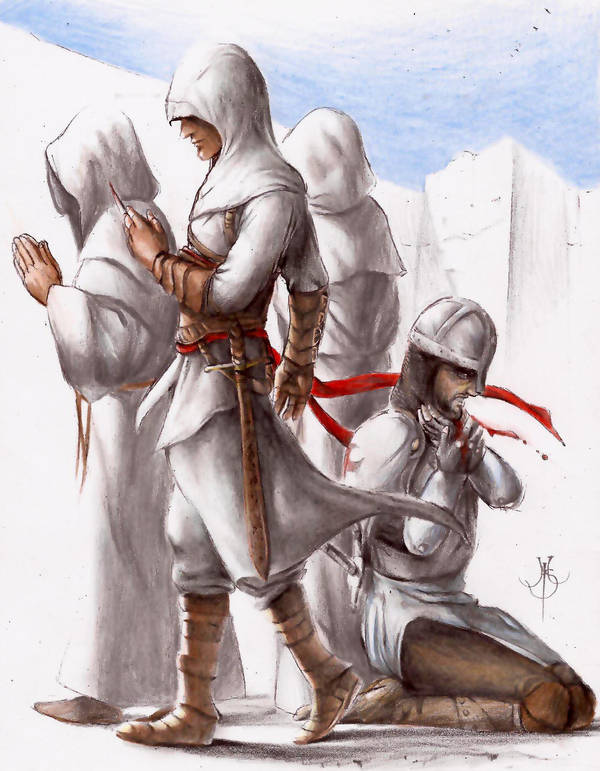 assassin creed by escorpiold