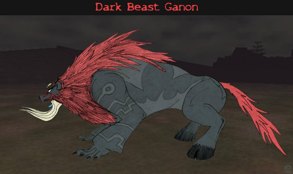 Dark Beast Ganon by No-one-o1