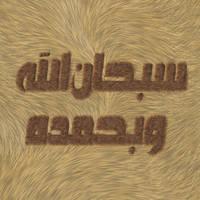 Sobhan ALLAH Wa Behamdeh by batchdenon