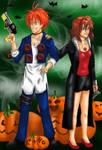RonMione Halloween contest by Thirrinaki