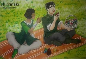 Easter Picknick by Thirrinaki