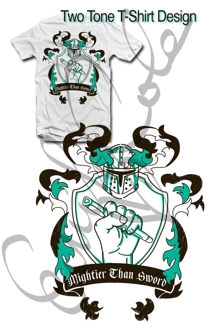 Coat of Arms Final Layout-Tshirt Design by EmersonWolfe