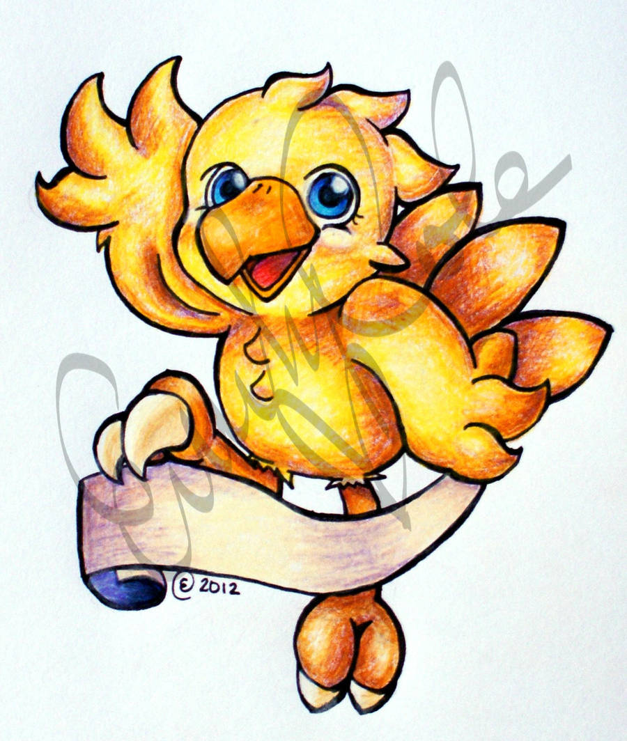 Chocobo by EmersonWolfe