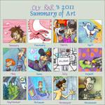 Art Summary 2011 by Oly-RRR