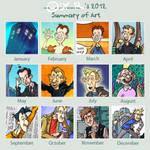 Art Summary 2012 by Oly-RRR