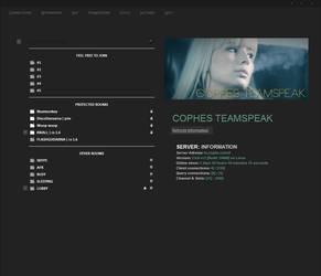 Custom teamspeak 3 theme by Cophish
