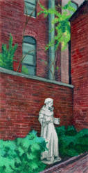 St Francis of the Alley by NicoPony