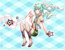Like A Rolling Star by Ark-san