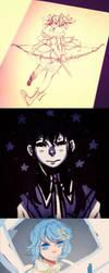 Meguka Sketch Dump by Ark-san