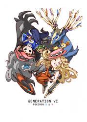 Pokemon XY by Ark-san