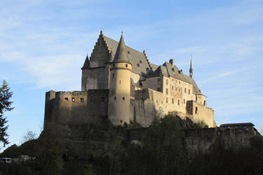 azurylipfesStock2016-ouren- Castle Vianden (3) by AzurylipfesStock