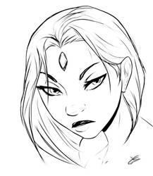 R sketch by MegS-ILS