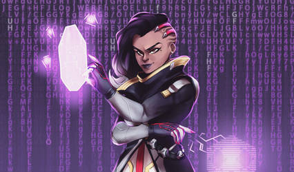 Commission - Sombra by MegS-ILS