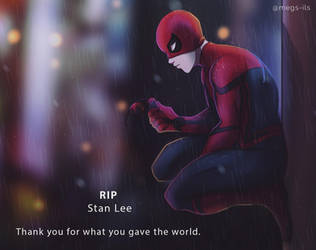 RIP Stan Lee by MegS-ILS