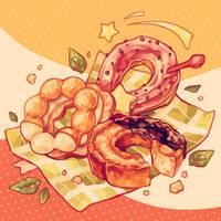 Mister Donut by reikureii