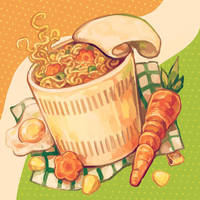 noodles by reikureii