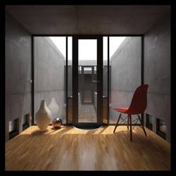 Azuma House - Tadao Ando by torque89