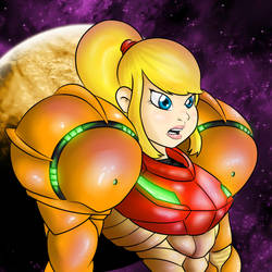 Metroid - Samus Aran by foxms11
