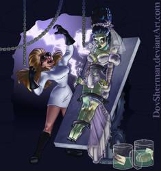 Dr. Mrs. Frankenstein by DovSherman