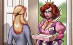 Princess Pizza by DovSherman