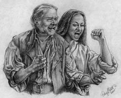 Gibbs and Anamaria by honorat