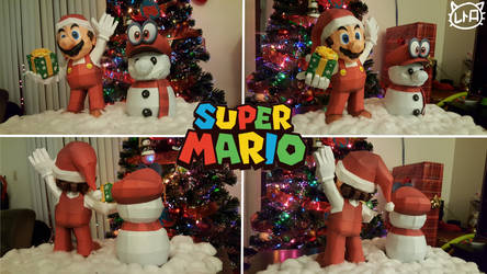 Super Mario Holiday Papercraft Special 2017 by SuperRetroBro