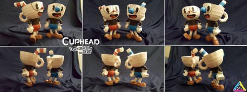 Studio MDHR Cuphead 3D Papercraft by SuperRetroBro