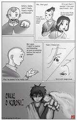 Aang's Earthbending Master by tenleftthumbs