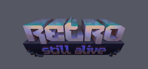 Retro Still Alive blog logo v2 by Anarkhya