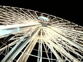 Ferris Wheel at Night by DarkWaltzFairy