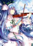 Winter Song Speedpaint by ming-zi