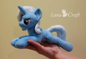 Tiny but yet so powerful Trixie [ mlp plushie ] by LanaCraft