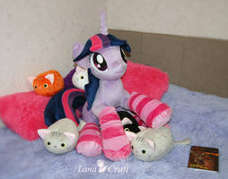A strong and independent mare [ MLP Twily plush ] by LanaCraft