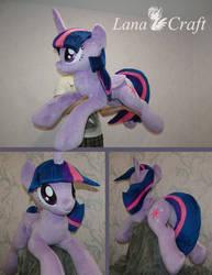 Twilight Sparkle BIG plush - MLP handmade plushie by LanaCraft