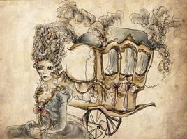 Marie Antoinette by dyingrose24