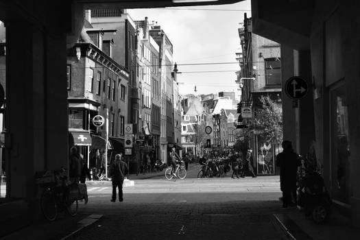 Amsterdam in Black and White by ViRPo
