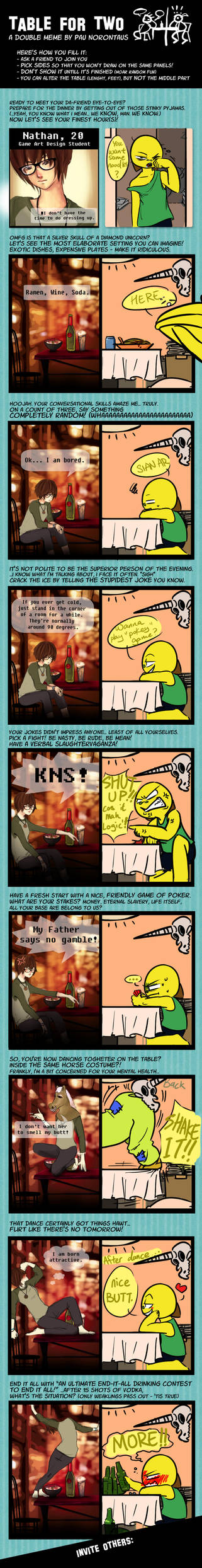 Table For 2 Double Meme By Pau Norontaus-d34 by Nathaniel-Aoife