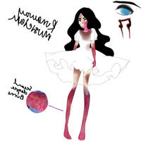 creepypasta oc: Runaway Musician by Blxck-Moon
