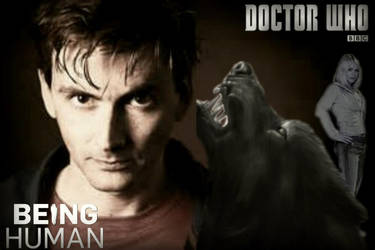Being Human/ Doctor Who - wallpaper by Laurenthebumblebee
