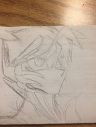 Rough sketch of a persona of the Matrix by redconvoy