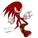 SONIC-KINGDOM Group Collab: Knuckles by RubintheHorse